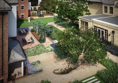 Mulberry Court Gardens Court Gardens