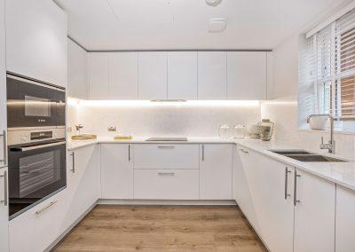 Mulberry Court show flat, kitchen