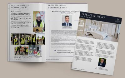 The latest issue of the Lifestyle Residences local newsletter